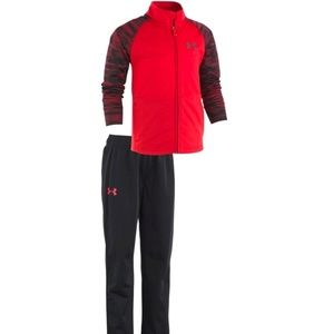 Under armour track jacket and pants set